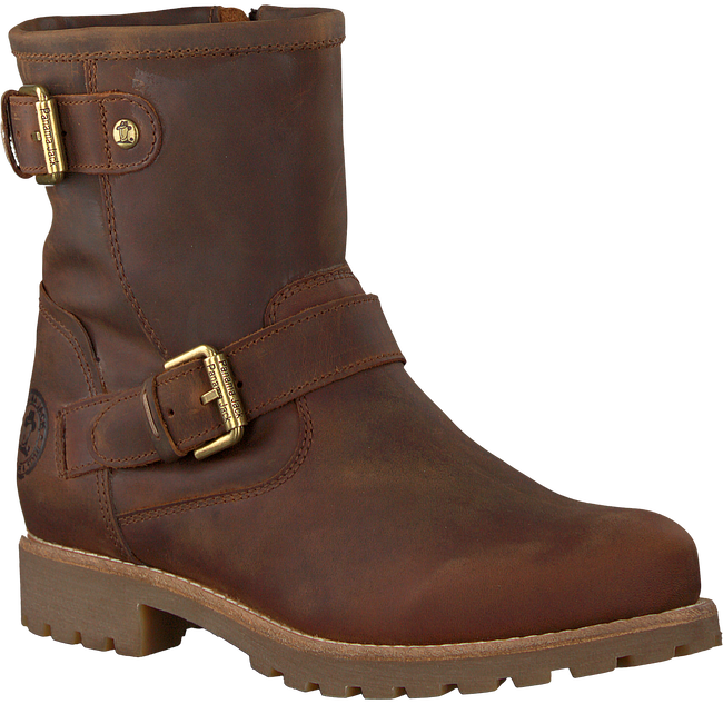 Braune PANAMA JACK Ankle Boots FELINA B5 - large