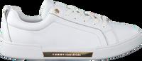 Weiße TOMMY HILFIGER Sneaker low BRANDED OUTSOLE METALLIC  - medium