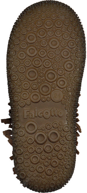 Cognacfarbene FALCOTTO Schnürboots SEASELL - large