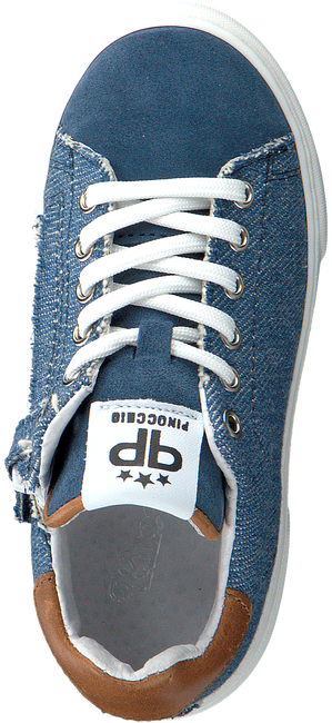 Blaue PINOCCHIO Sneaker low P1341  - large