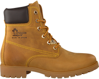 Camelfarbene PANAMA JACK Ankle Boots PANAMA DAMES - medium