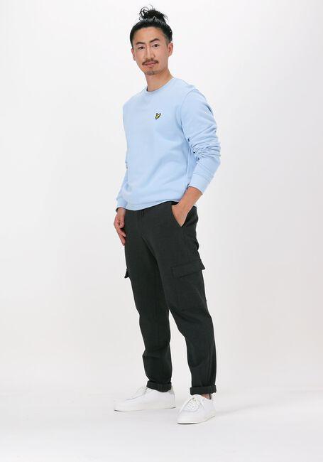 Blaue LYLE & SCOTT Sweater CREW NECK SWEATSHIRT - large