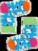 Weiße HAPPY SOCKS Socken KIDS PIGEON SOCK  - small