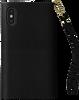 Schwarze IDEAL OF SWEDEN Handy-Schutzhülle MAYFAIR CLUTCH IPHONE X /Xs - small