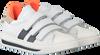 Weiße HIP Sneaker H1888 KLITTENBAND - small