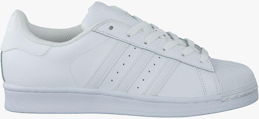 Weiße ADIDAS Sneaker SUPERSTAR DAMES - larger