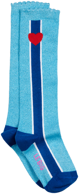 Blaue LE BIG Socken STEFFIE KNEE HIGH  - large