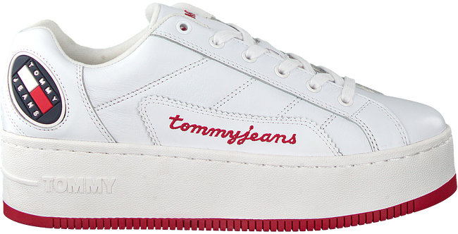 Weiße TOMMY HILFIGER Sneaker low RETRO ICON  - large