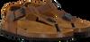 Cognacfarbene DEVELAB Sandalen 48179 - small