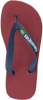 Rote HAVAIANAS Zehentrenner BRASIL LOGO KIDS - small