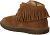 Cognacfarbene FALCOTTO Schnürboots SEASELL - small