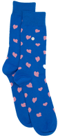 Blaue Alfredo Gonzales Socken HEARTS  - medium