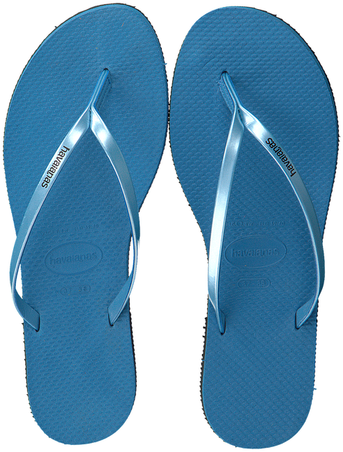 Blaue HAVAIANAS Pantolette YOU METALLIC  - large