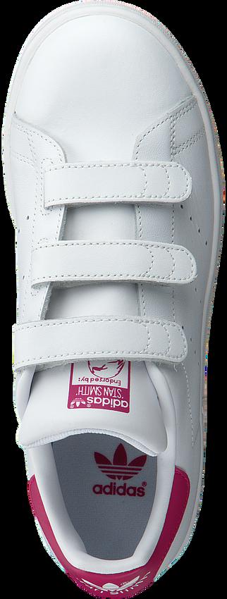 Weiße ADIDAS Sneaker STAN SMITH CF J - larger