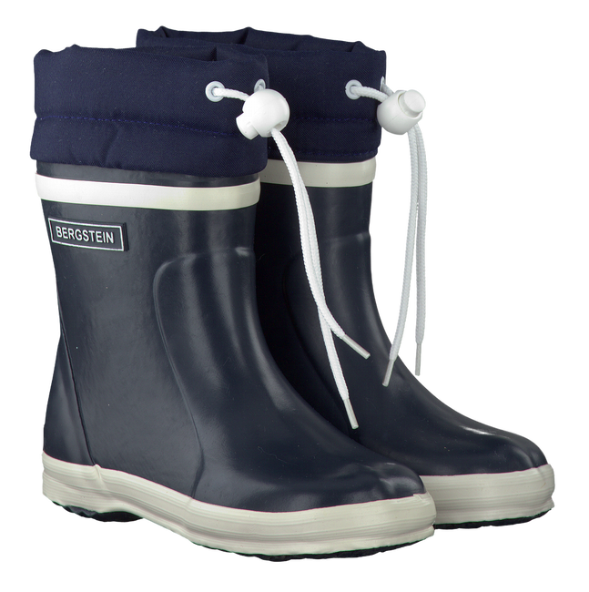 Blaue BERGSTEIN Gummistiefel WINTERBOOT - large