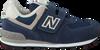 Blaue NEW BALANCE Sneaker YV574/IV574 - small