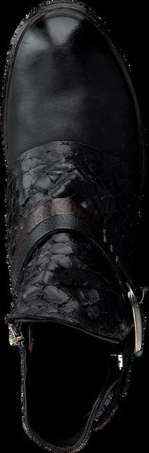 Schwarze A.S.98 Biker Boots 207202 - large