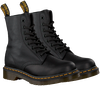 Schwarze DR MARTENS Schnürstiefel PASCAL - small
