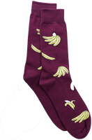 Rote Alfredo Gonzales Socken FOOD - BANANAS  - medium