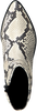 Weiße DEABUSED Stiefeletten 7434  - small