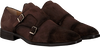 Braune MAZZELTOV Business Schuhe 3654  - small