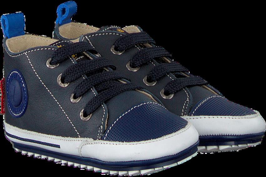 Blaue SHOESME Babyschuhe BP8W004 - larger