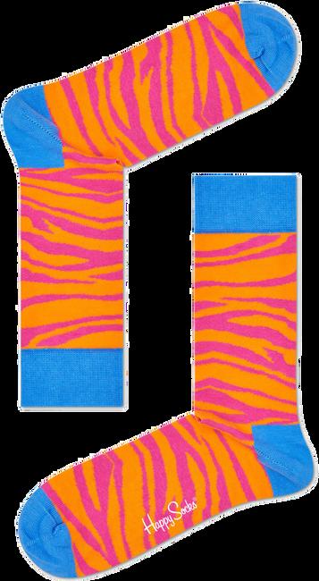 Schwarze HAPPY SOCKS Socken ZEBRA - large