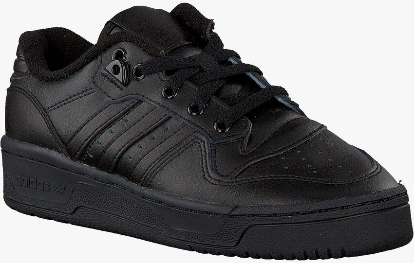 Schwarze ADIDAS Sneaker RIVALRY LOW J  - larger