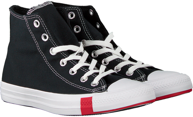 Schwarze CONVERSE Sneaker high CHUCK TAYLOR AS MULTI LOGO  - large