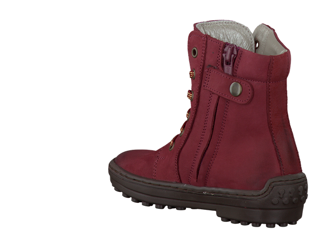 Rote BO-BELL Langschaftstiefel PAPARAL - large