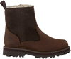 Braune TIMBERLAND Ankle Boots COURMA KID WARM LINED  - small