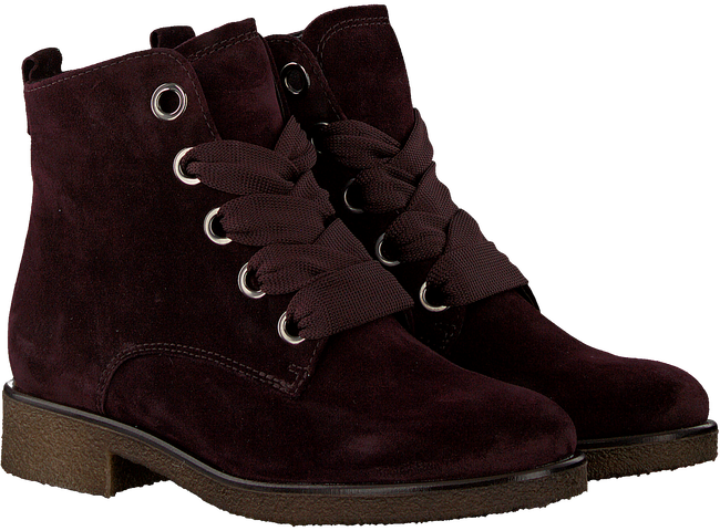 Rote GABOR Schnürboots 705  - large