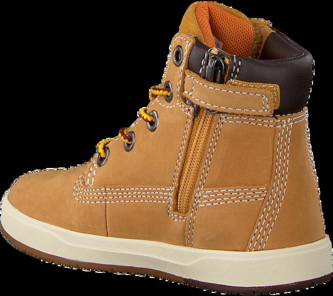 Camelfarbene TIMBERLAND Ankle Boots DAVIS SQUARE 6 KIDS - large