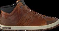 Cognacfarbene BJORN BORG Sneaker CURD MID M  - medium