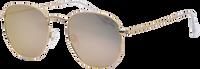 Goldfarbene IKKI Sonnenbrille LA PORTE - medium