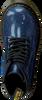 Blaue DR MARTENS Schnürboots 1460 GLITTER T/J - small