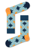 Blaue HAPPY SOCKS Socken NAUTICAL STAR SOCK  - small