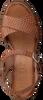 Cognacfarbene RED-RAG Sandalen 79174  - small
