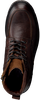 Braune MAZZELTOV Schnürschuhe MBOSS602.22OMO1  - small