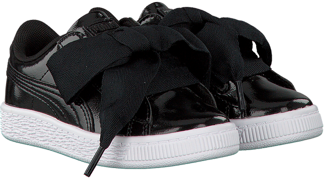 Schwarze PUMA Sneaker BASKET HEART GLAM - large