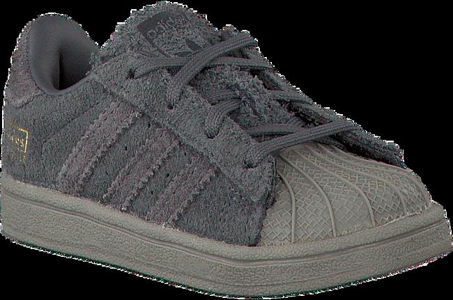 Graue ADIDAS Sneaker SUPERSTAR KIDS 1 - large