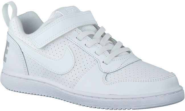 Weiße NIKE Sneaker COURT BOROUGH LOW (KIDS) - large