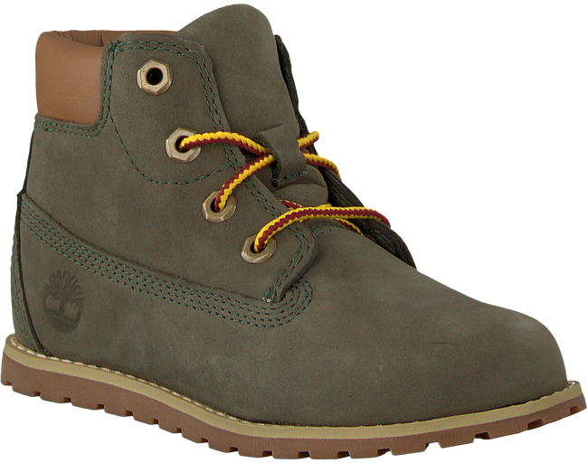 Graue TIMBERLAND Ankle Boots POKEY PINE 6IN BOOT KIDS - large