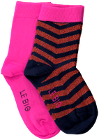Mehrfarbige/Bunte LE BIG Socken TANEDRA SOCK 2-PACK  - medium