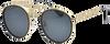Schwarze IKKI Sonnenbrille RYDER  - small