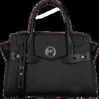 Schwarze MICHAEL KORS Handtasche LG FLAP BELTED SATCHEL  - medium