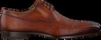 Cognacfarbene MAGNANNI Business Schuhe 18738  - medium
