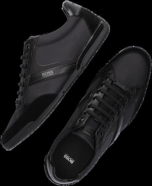 Schwarze HUGO BOSS Sneaker SATURN LOWP  - large