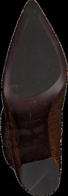 Cognacfarbene PERTINI Stiefeletten 192W16146  - large