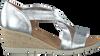 Silberne GABOR Sandalen 853 - small